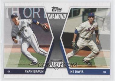 2011 Topps - Diamond Duos Series 1 #DD-BD - Ryan Braun, Ike Davis
