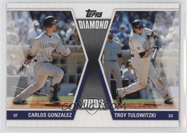 2011 Topps - Diamond Duos Series 1 #DD-GT - Carlos Gonzalez, Troy Tulowitzki