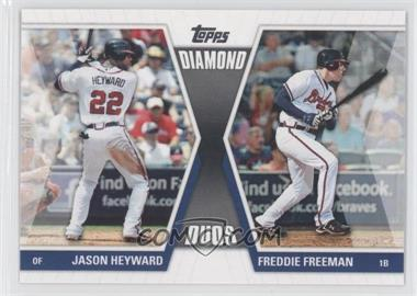2011 Topps - Diamond Duos Series 1 #DD-HF - Jason Heyward, Freddie Freeman