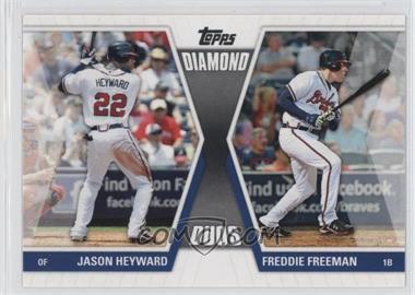 2011 Topps - Diamond Duos Series 1 #DD-HF - Jason Heyward, Freddie Freeman