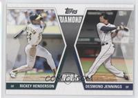 Rickey Henderson, Desmond Jennings
