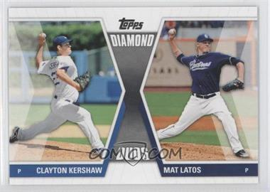 2011 Topps - Diamond Duos Series 1 #DD-KL - Clayton Kershaw, Mat Latos
