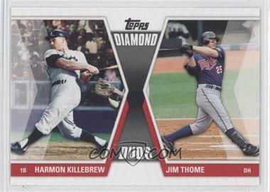 2011 Topps - Diamond Duos Series 1 #DD-KT - Harmon Killebrew, Jim Thome
