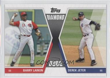 2011 Topps - Diamond Duos Series 1 #DD-LJ - Barry Larkin, Derek Jeter