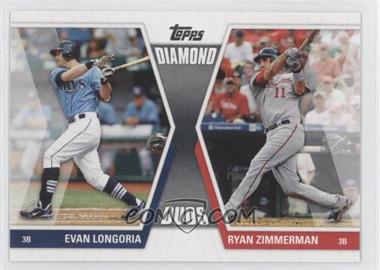 2011 Topps - Diamond Duos Series 1 #DD-LZ - Evan Longoria, Ryan Zimmerman