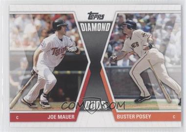2011 Topps - Diamond Duos Series 1 #DD-MP - Buster Posey, Joe Mauer