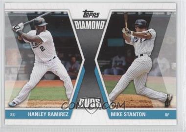 2011 Topps - Diamond Duos Series 1 #DD-RS - Hanley Ramirez, Giancarlo Stanton