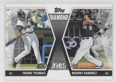 2011 Topps - Diamond Duos Series 1 #DD-TR - Frank Thomas, Manny Ramirez