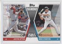 Justin Upton, Giancarlo Stanton