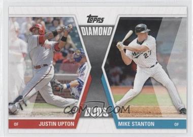 2011 Topps - Diamond Duos Series 1 #DD-US - Justin Upton, Mike Stanton