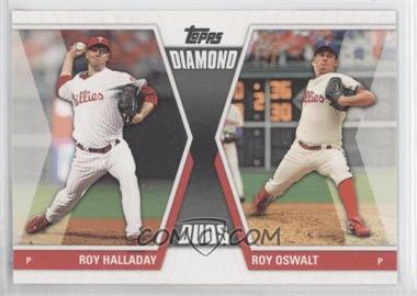 2011 Topps - Diamond Duos Series 2 #DD-1 - Roy Halladay, Roy Oswalt