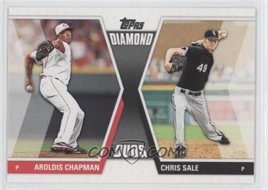 2011 Topps - Diamond Duos Series 2 #DD-13 - Aroldis Chapman, Chris Sale