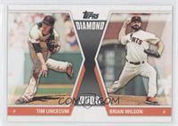 Tim Lincecum, Brian Wilson