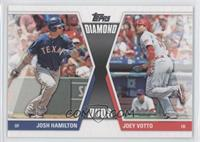 Joey Votto, Josh Hamilton