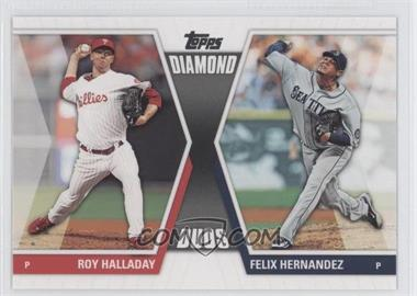 2011 Topps - Diamond Duos Series 2 #DD-18 - Roy Halladay, Felix Hernandez