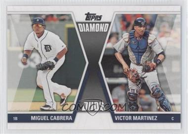 2011 Topps - Diamond Duos Series 2 #DD-19 - Miguel Cabrera, Victor Martinez