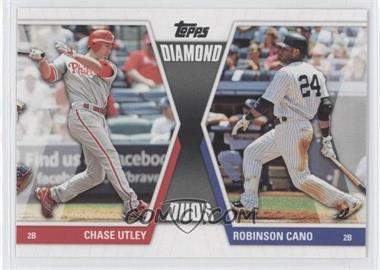 2011 Topps - Diamond Duos Series 2 #DD-2 - Chase Utley, Robinson Cano