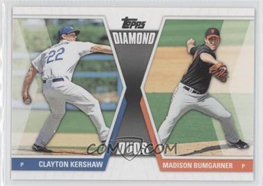 2011 Topps - Diamond Duos Series 2 #DD-20 - Clayton Kershaw, Madison Bumgarner