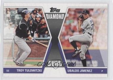 2011 Topps - Diamond Duos Series 2 #DD-22 - Troy Tulowitzki, Ubaldo Jimenez