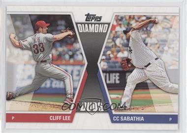 2011 Topps - Diamond Duos Series 2 #DD-23 - Cliff Lee, CC Sabathia