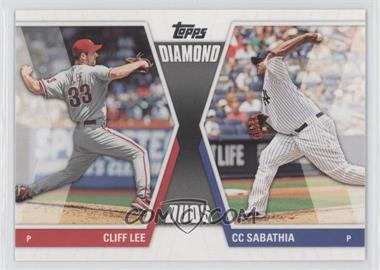 2011 Topps - Diamond Duos Series 2 #DD-23 - Cliff Lee, CC Sabathia