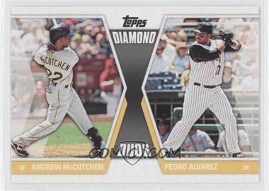 2011 Topps - Diamond Duos Series 2 #DD-24 - Andrew McCutchen, Pedro Alvarez