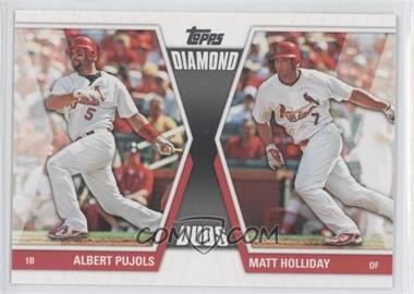 2011 Topps - Diamond Duos Series 2 #DD-28 - Albert Pujols, Matt Holliday