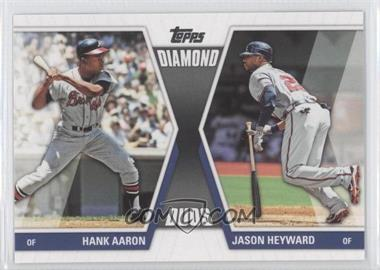 2011 Topps - Diamond Duos Series 2 #DD-29 - Hank Aaron, Jason Heyward