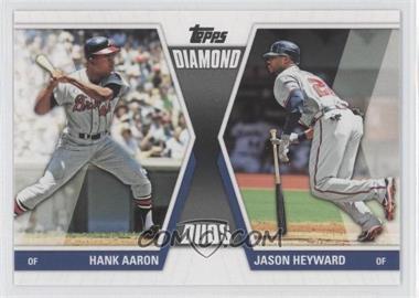2011 Topps - Diamond Duos Series 2 #DD-29 - Hank Aaron, Jason Heyward