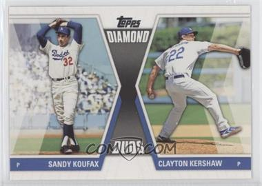2011 Topps - Diamond Duos Series 2 #DD-30 - Sandy Koufax, Clayton Kershaw