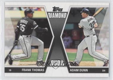 2011 Topps - Diamond Duos Series 2 #DD-7 - Frank Thomas, Adam Dunn