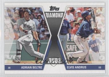 2011 Topps - Diamond Duos Series 2 #DD-9 - Adrian Beltre, Elvis Andrus