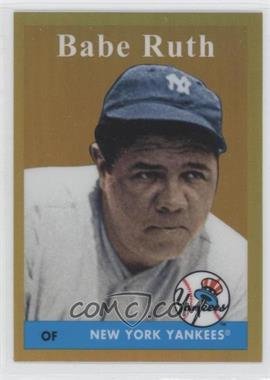 2011 Topps - Factory Set Babe Ruth #BR58 - Babe Ruth