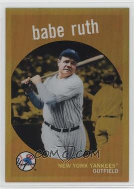 2011 Topps - Factory Set Babe Ruth #BR59 - Babe Ruth