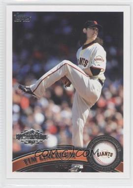 2011 Topps - Factory Set Factory Set Exclusive All-Stars #4 - Tim Lincecum