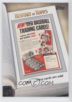 1951 - First cards are sold