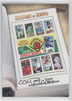 1989 - Topps reintroduces Bowman