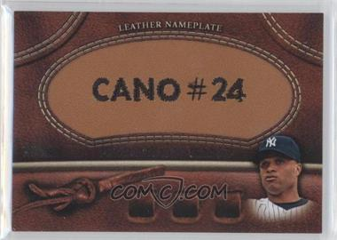 2011 Topps - Manufactured Glove Leather Nameplate #MGL-RC.1 - Robinson Cano
