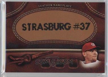 2011 Topps - Manufactured Glove Leather Nameplate #MGL-SS - Stephen Strasburg