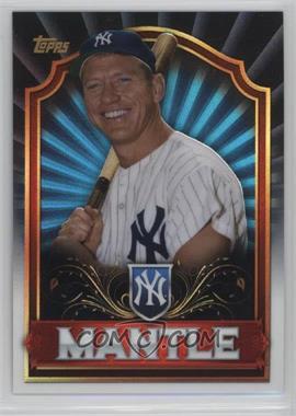 2011 Topps - Mega Boxes Mega Box Chrome #MBC1 - Mickey Mantle