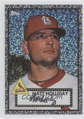 2011 Topps - Prizes 1952 Topps Black Diamond Wrapper Redemptions #42 - Matt Holliday