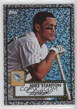 2011 Topps - Prizes 1952 Topps Black Diamond Wrapper Redemptions #58 - Giancarlo Stanton
