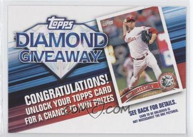 2011 Topps - Redemptions Diamond Giveaway Code Cards #TDG-6 - Roy Halladay
