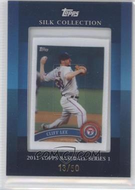 2011 Topps - Silk Collection #CLLE - Cliff Lee (Rangers) /50