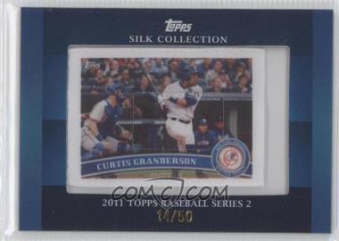 2011 Topps - Silk Collection #CUGR - Curtis Granderson /50