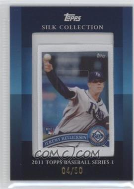 2011 Topps - Silk Collection #JEHE - Jeremy Hellickson /50