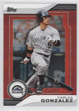 2011 Topps - Target Hanger Pack Inserts - Red #THP12 - Carlos Gonzalez