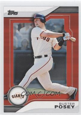 2011 Topps - Target Hanger Pack Inserts - Red #THP20 - Buster Posey