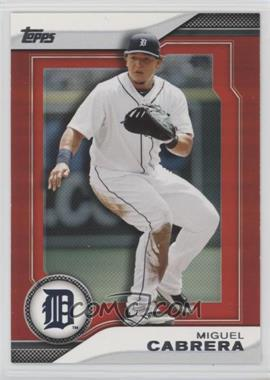 2011 Topps - Target Hanger Pack Inserts - Red #THP5 - Miguel Cabrera
