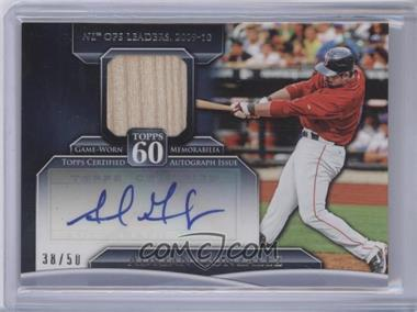 2011 Topps - Topps 60 - Autographed Relics [Autographed] #T60AR-AG - Adrian Gonzalez /50